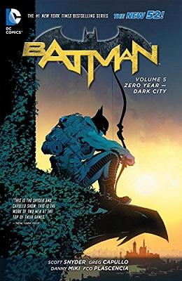 Batman: Volume 5: Zero Year Dark City TP (New 52) - Used