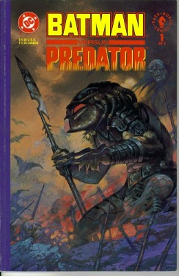 Batman Versus Predator (1991) Complete Bundle (3 Issues) - Used