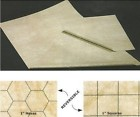 Reversible Megamat 1 Inch Squares and 1 Inch Hexes - 34.5X