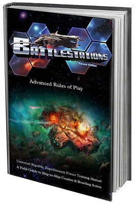 Battlestations Board Game (2nd Edition) Advanced Rulebook - Used