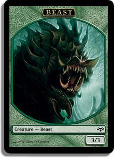Beast Token - Green - 3/3