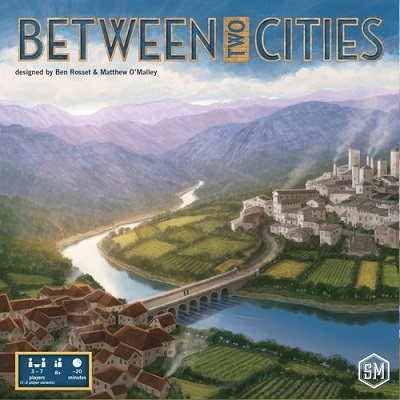 Between Two Cities Card Game
