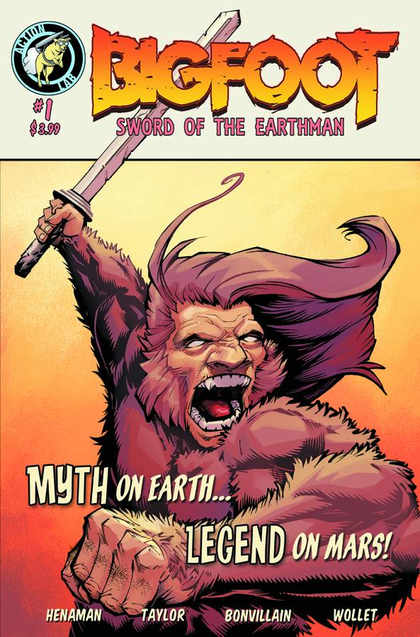 Bigfoot: Sword of the Earthman (2015) Complete Bundle - Used