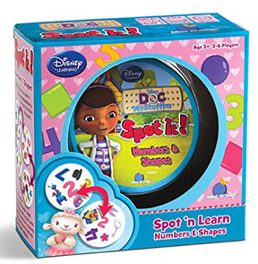 Spot It: Numbers and Shapes: Doc McStuffins