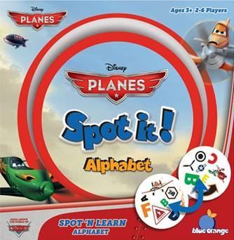 Spot It: Planes: Alphabet