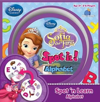 Spot It: Sofia the First: Alphabet