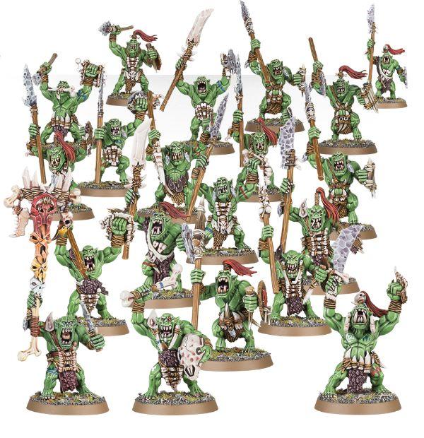 Warhammer: Age of Sigmar: Bonesplitterz Savage Orruks 89-19