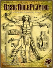 Basic Roleplaying: The Chaosium Roleplaying System Hard Cover - Used