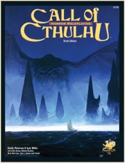Call of Cthulhu 6th ed Role Playing - Used
