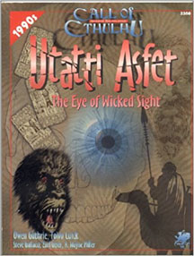 Call of Cthulhu Role Playing: Utatti Asfet: the Eye of Wicked Sight - Used