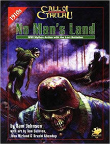 Call of Cthulhu Role Playing: No Mans Land - Used