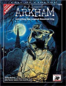 Call of Cthulhu 5th ed: H.P. Lovecraftss Arkham - Used