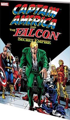 Captain America and the Falcon: Secret Empire TP