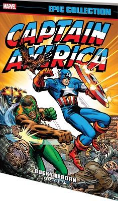 Captain America: Bucky Reborn TP