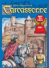 Carcassonne: With River and Abbot Expansions (Zman)