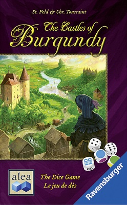 Castles of Burgundy Dice Game