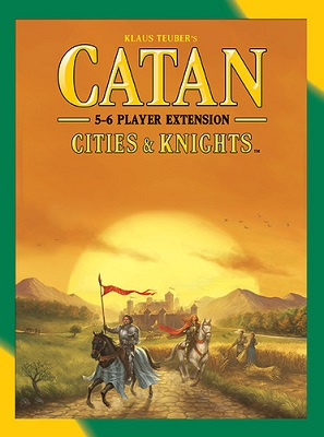 Catan: Cities and Knights: 5-6 Player Extension 3078