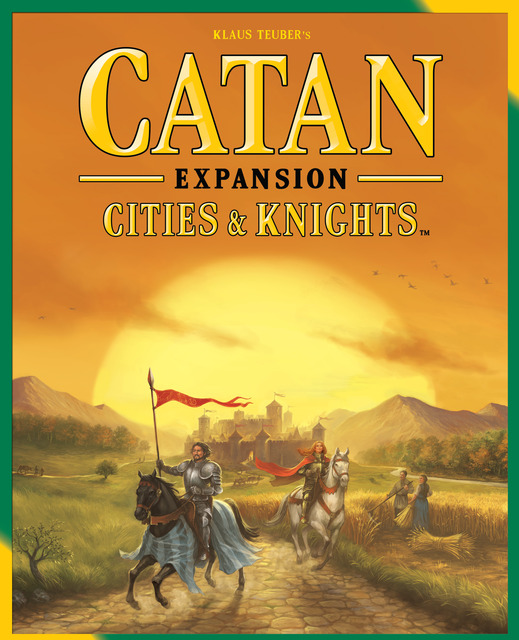 Catan: Cities and Knights Game Expansion: 3077