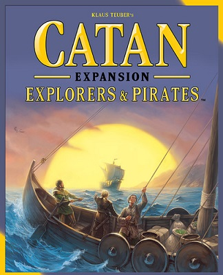 Catan: Explorers and Pirates Expansion 3075