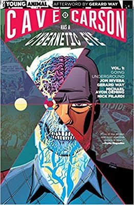 Cave Carson has a Cybernetic Eye: Volume 1: Going Underground TP
