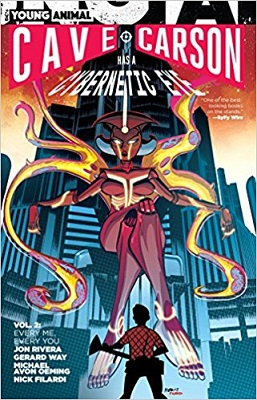 Cave Carson has a Cybernetic Eye: Volume 2 TP (MR)