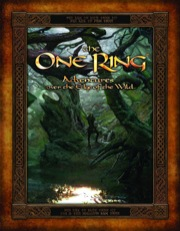 Lord of the Rings RPG: The One Ring: Adventures over the Edge of the Wild, with slipcase - Used