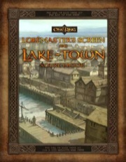 Lord of the Rings RPG: The One Ring: Loremasters Screen and Lake Town Sourcebook - Used