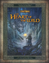Lord of the Rings RPG: The One Ring: The Heart of the Wild - Used