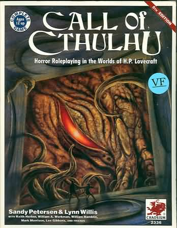 Call of Cthulhu 5th ed: Horror Roleplaying in the Worlds of H.P. Lovecraft - Used