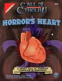 Call of Cthulhu: Horrors Heart - Used
