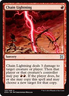 Chain Lightning - Eternal Masters