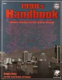 1990s Handbook: Modern Background for Call of Cthulhu - Used