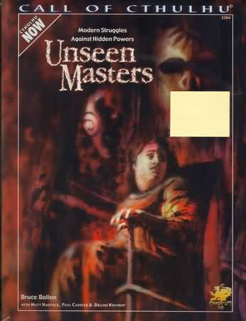 Call of Cthulhu: Unseen Masters - Used