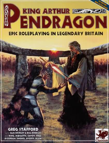 King Arthur Pendragon 4th ed: Epic Roleplaying in Legendary Britain - Used