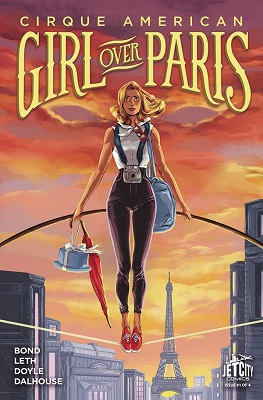 Cirque American: Girl over Paris (2016) Complete Bundle - Used