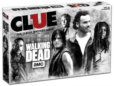 Clue: The Walking Dead Board Game