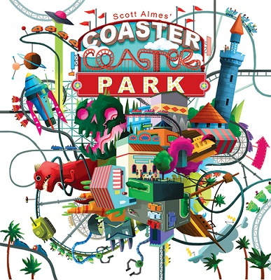 Coaster Park Board Game
