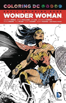 Coloring DC: Wonder Woman TP
