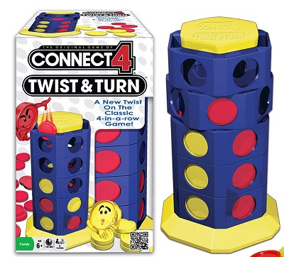 Connect 4: Twist and Turn
