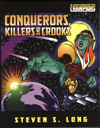 Hero: Champions 5th Ed: Conquerors Killers and Crooks - Used