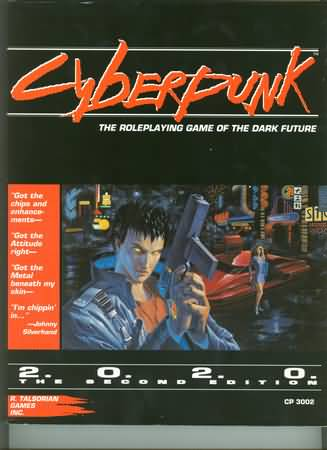 Cyberpunk 2020 2nd ed: the Roleplaying Game of the Dark Future - Used