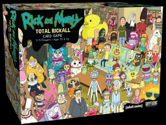 Rick and Morty: Total Rickall Co-op Card Game