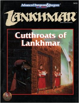 Dungeons and Dragons 2nd ed: Lankhmar: Cutthroats of Lankhmar - Used