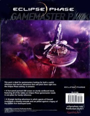 Eclipse Phase: Gamemaster Pack - Used