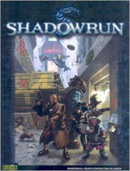 Shadowrun 4th Edition Core Rule Book - Used