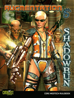 Shadowrun 4th ed: Augmentation - Used