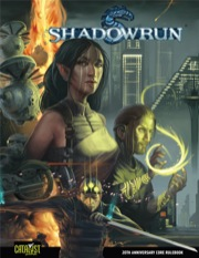 Shadowrun 4th ed: 20th Anniversary Core Rulebook - Used