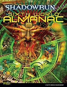 Shadowrun 4th ed: Sixth World Almanac HC - Used
