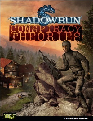 Shadowrun 4th ed: Conspiracy Theories - Used
