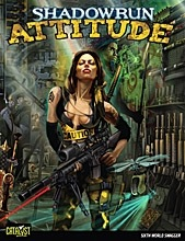 Shadowrun 4th ed: Attitude - Used